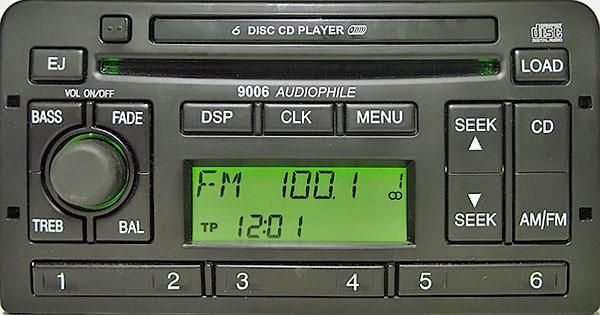Ford radio 9006 audiophile • Forum ford-club cz