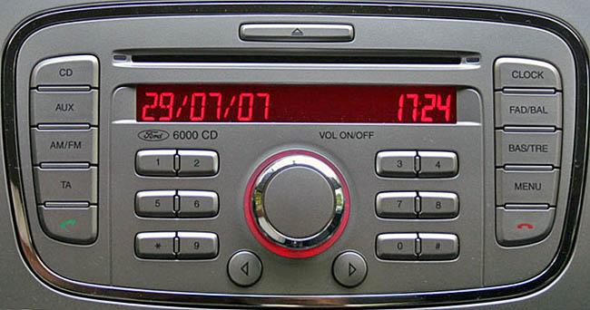 Ford 6000 CD / Single CD